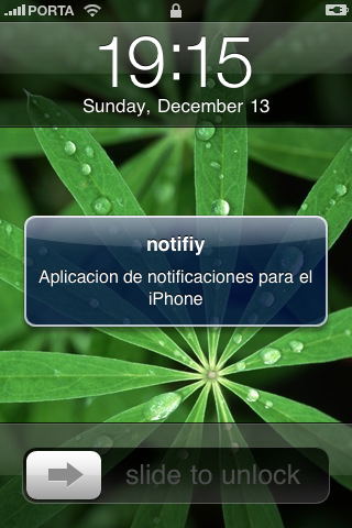 Wave Notifications on the iPhone